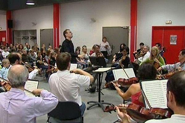 """L'Orchestre Dijon Bourgogne a l'habitude de """"délocaliser"""" ses répétitions et ses concerts"""