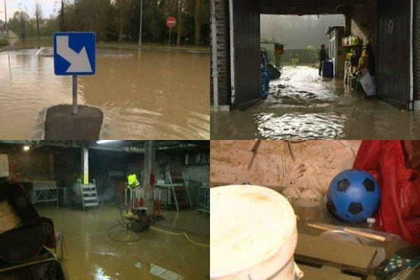 La Liane, la Canche et la Lys sortent pour la première fois de leur lit le 29 octobre. Deux mois plus tard, les inondations sont de retour dans l'Ouest du Pas-de-calais. Depuis septembre, il a y plu deux fois plus que d'habitude.