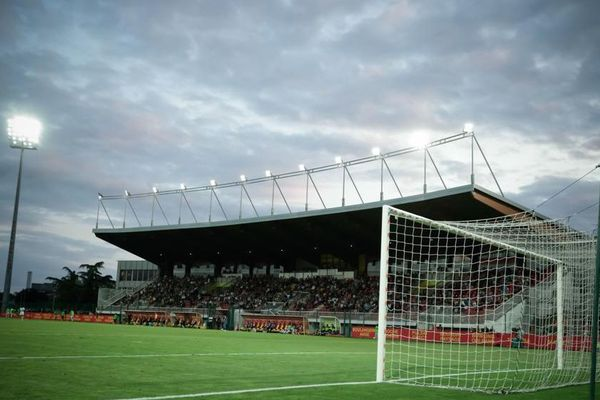 Le centre de formation de l'US Orléans se situe sous la tribune d'honneur du stade de La Source.