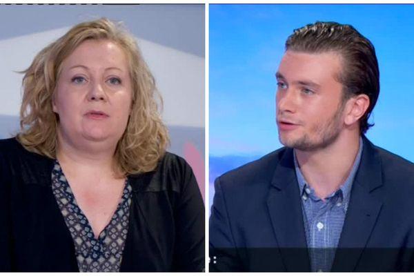 Législatives : rien ne va plus entre entre les candidats FN Sophie Montel et Lou Viallet