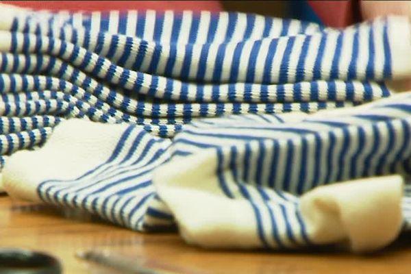 Ces chaussettes ultra-solides sont fabriquées à Burlats, près de Castres, dans le Tarn.