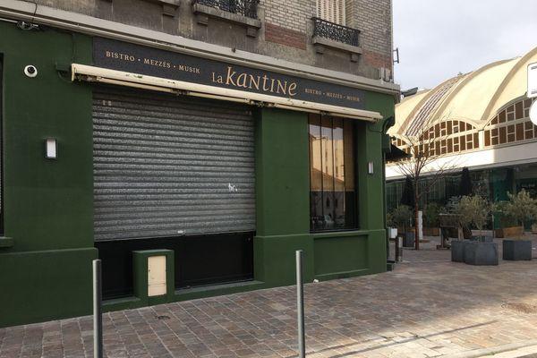 Ce restaurant situé au centre de Reims a décidé de ne plus proposer la vente à emporter.