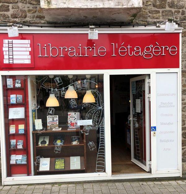 La librairie L'Etagère à Saint-Malo