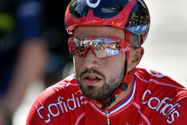 Nacer Bouhanni a dû abandonner le Tour de France mercredi suite à une troisième chute en dix jours.
