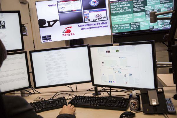 Les locaux de l'ANSSI (Agence Nationale de la Sécurité des Systèmes d Information), qui assure la sécurité informatique