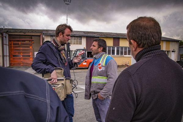 Yann Augras, figure syndicale, était devenu aussi l'une des figures médiatiques de la lutte des GM&S