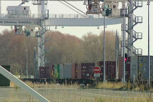 Le terminal multimodal du Havre