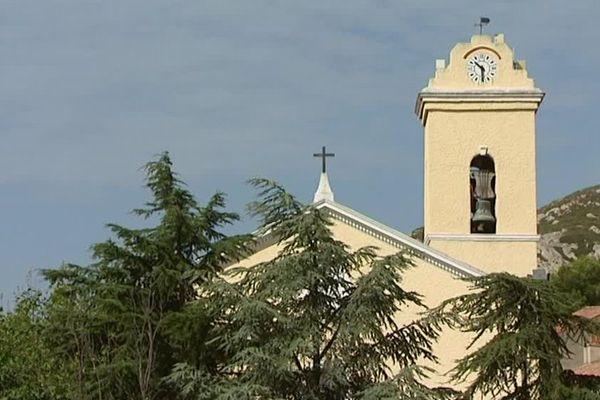 L'église du Rove, dans les Bouches-du-Rhône