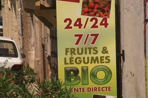 Une petite envie de légumes bio à toute heure. C'est possible à Villeveyrac dans l'Hérault.
