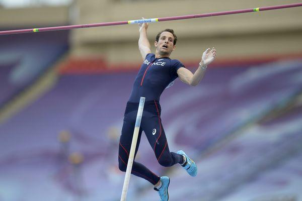 Renaud Lavillenie aux Championnats du Monde à Moscou