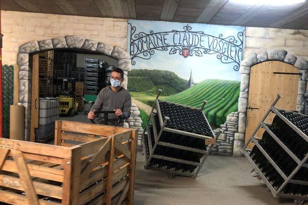 L'exploitation familiale Claude Vosgien, spécialisée dans le vin 100% bio.