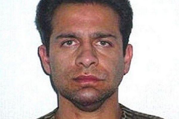 Israel Vallarta, ex-compagnon de Florence Cassez, après son arrestation en 2005.