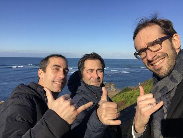 Guillaume Decaix, Olivier Riou et Tanguy Scoazec ont arpenté les spots de surf de la Nouvelle Aquitaine pour ce 5e numéro de NoA sur Mer
