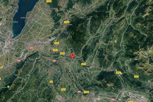 Un accident a fait un mort et deux blessés graves à Fillinges en Haute-Savoie hier soir.