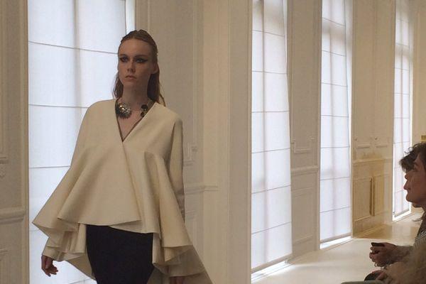 Le défilé haute couture hiver 2016-2017 de la maison Dior, le 4 juillet, à Paris.