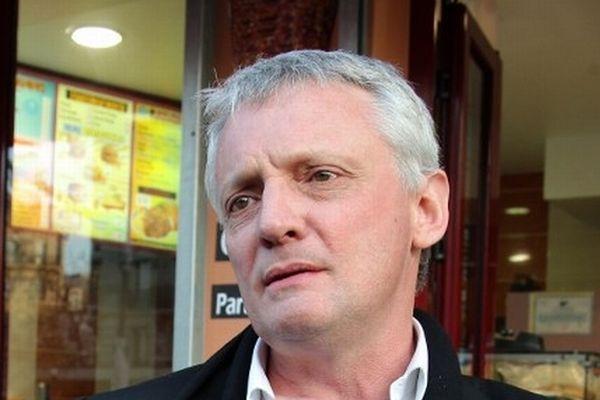 Thierry Lazaro, député-maire de Phalempin, en mars 2012