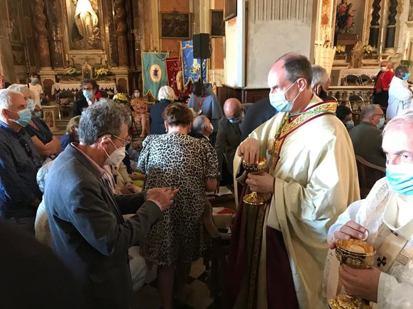 Monseigneur François-Xavier Bustillo a été nommé par le pape François en mai dernier.