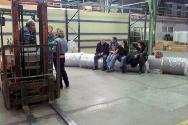 Les salariés ont prévu de passer la nuit dans l'usine