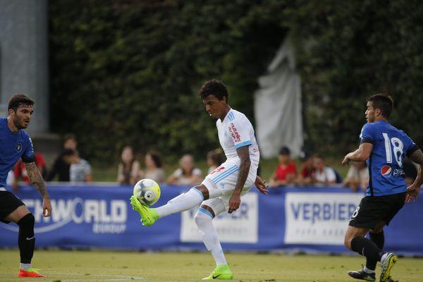 Luiz Gustavo en match amical