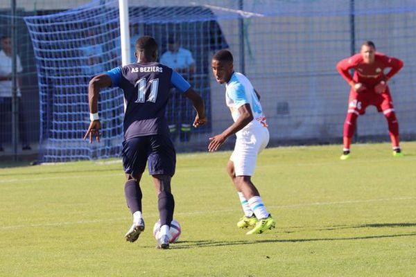 Béziers s'est imposé face à l'OM en match amical - 11 juillet 2018