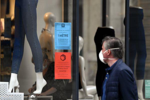 Les boutiques de vêtements pourront ouvrir les dimanches. Image d'illustration.