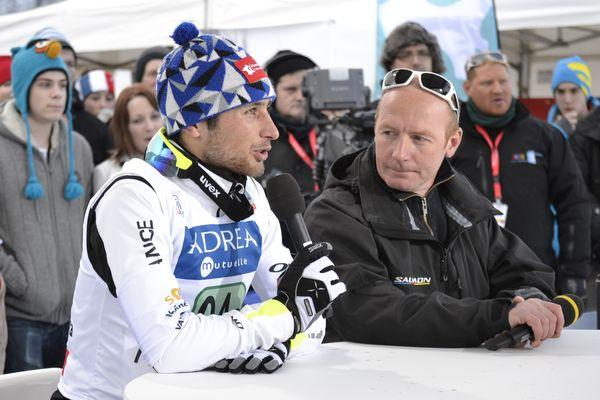 Jason Lamy-Chappuis et Sylvain Guillaume, invités sur le plateau de l'émission