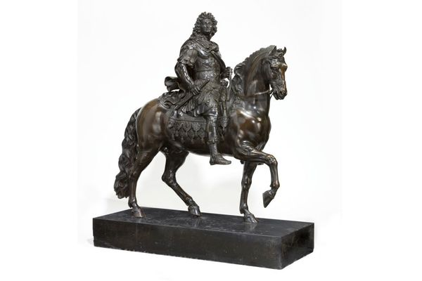 La statue équestre de Louis XIV de Rennes
