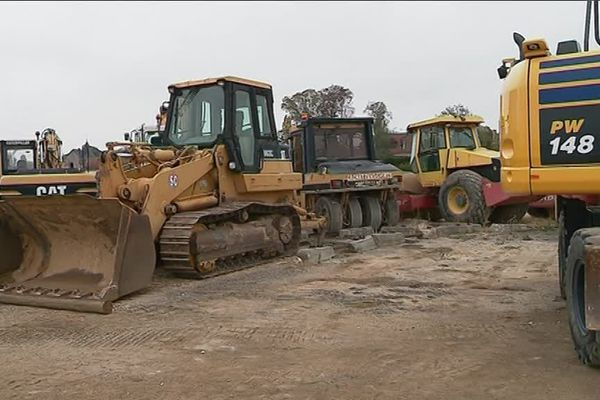 Engins agricoles et camions de chantier font partie des cibles favorites des voleurs de carburants.