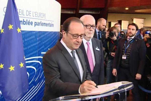 Le 11 octobre au Conseil de l'Europe.