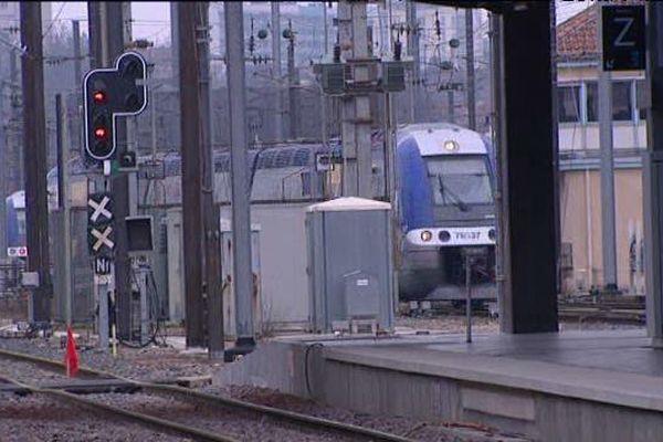 Aucune circulation de trains les 4 et 5 avril prochains au départ de Metz