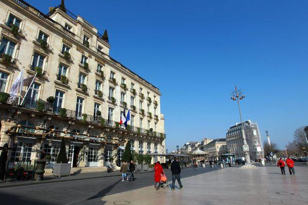 L'agresseur présumé a été arrêté dans le centre-ville de Bordeaux