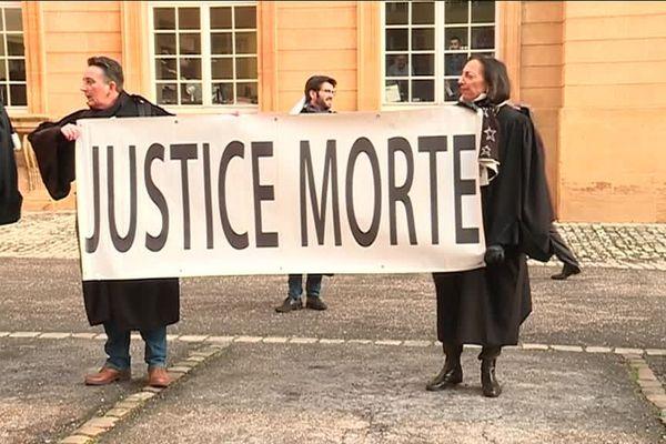 A Metz, les avocats redoutent une refonte de la carte judiciaire