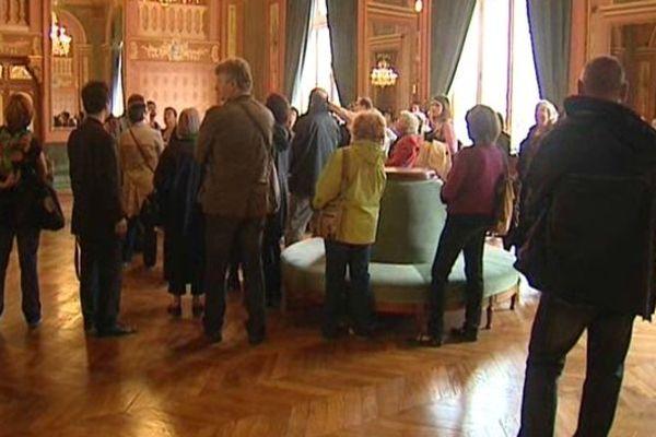 Le public a pu découvrir le nouvel Opéra de Clermont-Ferrand au cours d'une visite guidée de 50 minutes.