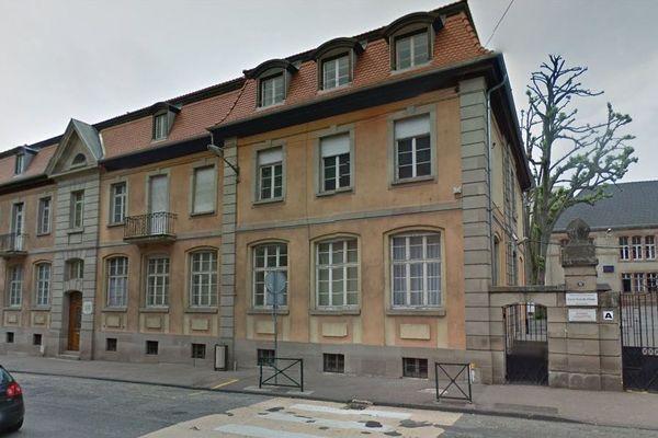 Le lycée Jean de Pange à Sarreguemines (Moselle).
