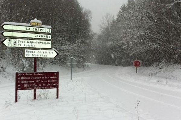 La Chapelle, station de ski de fond des Ardennes