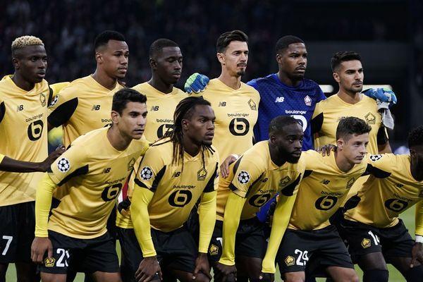 Le LOSC avant le match face à l'Ajax d'Amsterdam