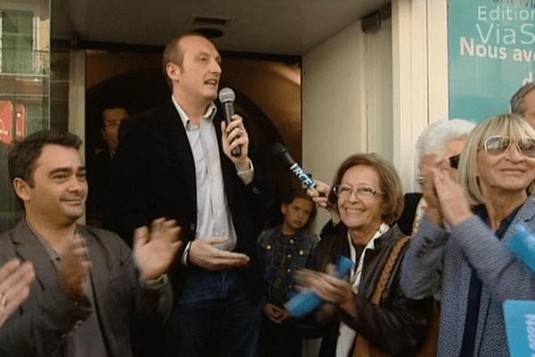 ILLUSTRATION - Laurent Marcangeli repart confiant pour la prochaine élection municipale d'Ajaccio.