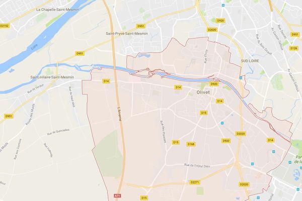 Un accident de camion sur l'A71 au niveau d'Olivet (Loiret)