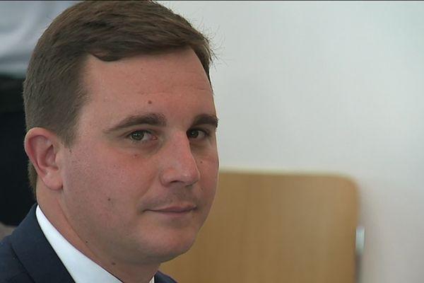Romain Bail, le maire de Ouistreham, ce mardi 11 juin au tribunal correctionnel de Caen
