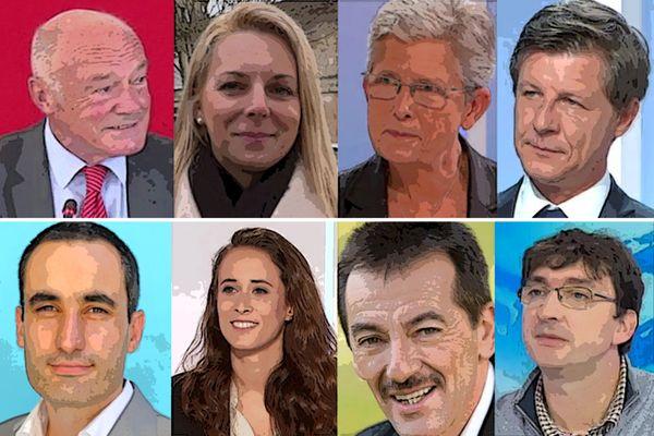 Alain Rousset, Edwige Diaz, Geneviève Darrieussecq, Nicolas Florian, Nicolas Thierry, Clémence Guetté, Eddie Puyjalon, Guillaume Perchet sont têtes de listes pour les élections régionales 2021 en Nouvelle-Aquitaine