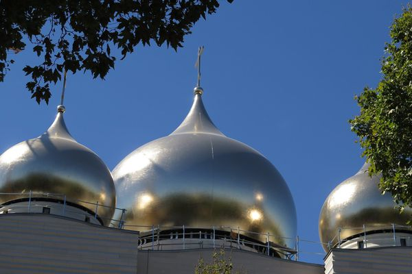 Le centre culturel et spirituel orthodoxe russe, à Paris.