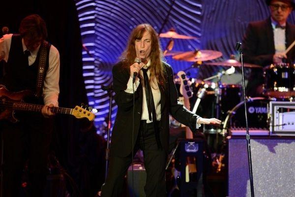 Patti Smith (ici en concert aux USA en février 2013) sera à Vence pour la 16ème édition des Nuits du Sud