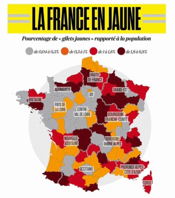 Voici la carte réalisée par Hervé Le Bras