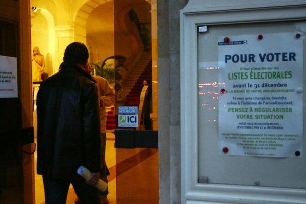 Elections : s'inscrire avant le 31 décembre