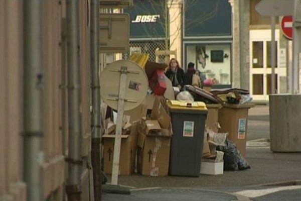 Les poubelles ne sont plus ramassées depuis hier