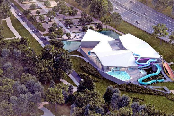Le futur centre aqualudique de Valence sera construit d'ici décembre 2019 dans le parc de l'Epervière