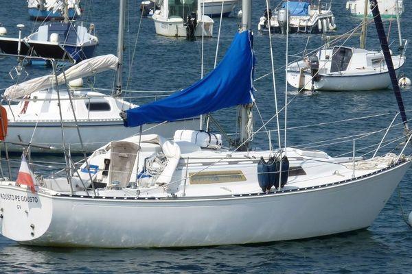 Le  Kousto pe Gousto, le voilier d'Alain Monnat, disparu de Pont-Croix