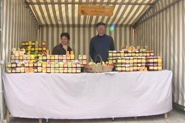Ces producteurs concoctent une quarantaine de sorte confiture, avec des fruits frais.