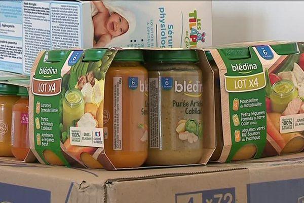Petits pots, couches, vêtements, jouets... cette crèche de Firminy se mobilise pour récolter des produits de première nécessité à destination des bébés des Restos du coeur.