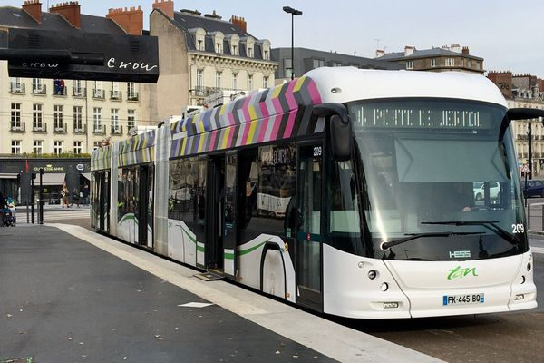 Avec le déconfinement, l'offre de trafic des bus et trams de la métropole de Nantes portée à 75% du trafic habituel à compter du 11 mai 2020